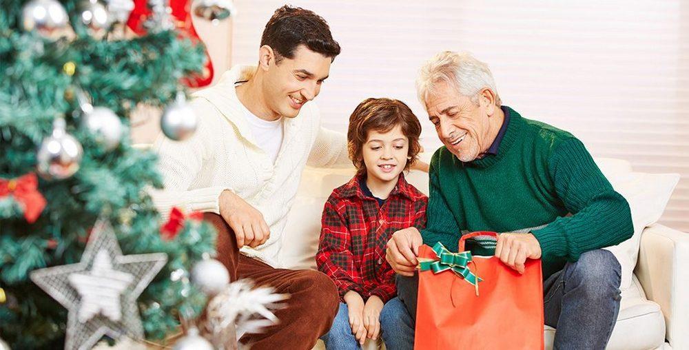 Подарунок дідусеві на Новий рік 2021